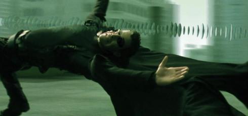 Matrix bullet time