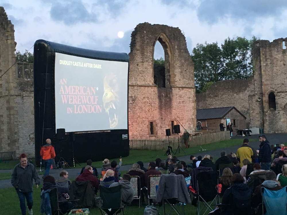 Flatpack Presents: Dudley Castle After Dark: An American Werewolf in Dudley
