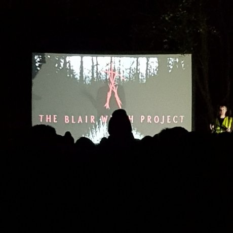 The Blair Witch Project open air screening