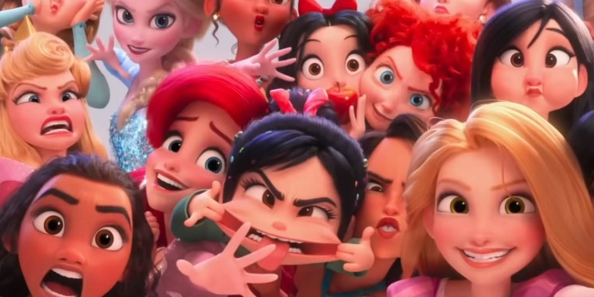 Wreck-It Ralph 2 Red Bezzle Brand Onscreen Magazine