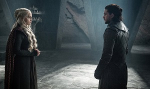 Jon Snow and Daenerys Game Of Thrones