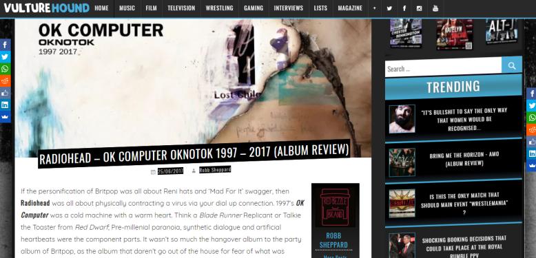 vulturehound radiohead oknotok review