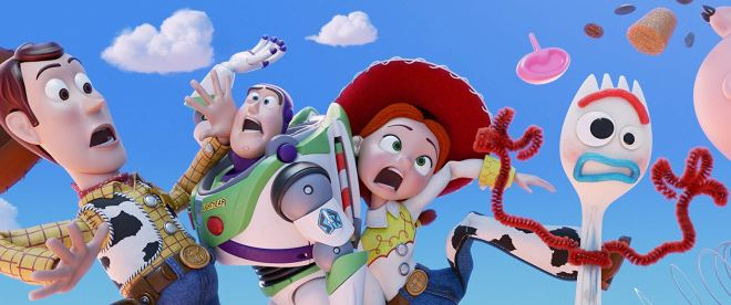 Toy Story 4 Review Woody, Buzz, Jessie and Forky