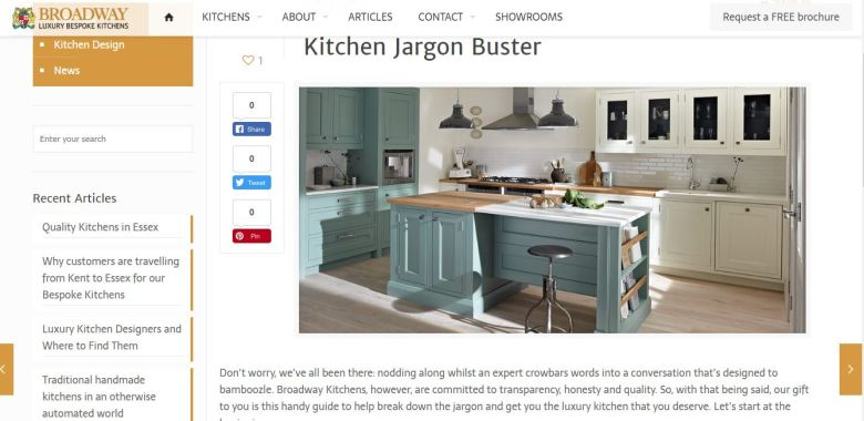 Kitchen Jargon Buster