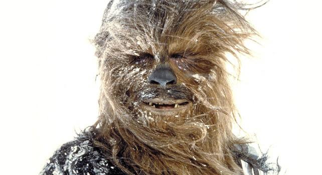 Chewbacca on Hoth