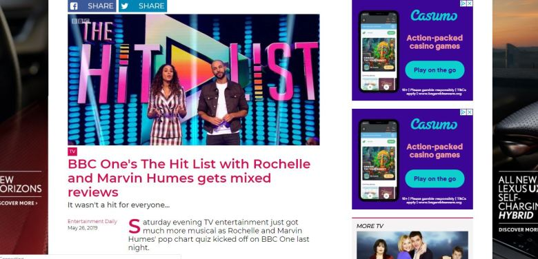 The Hit List - Marvin and Rochelle