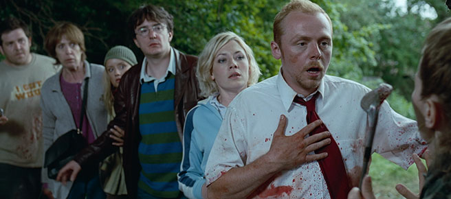 Shaun of the Dead meets Yvonne's gang