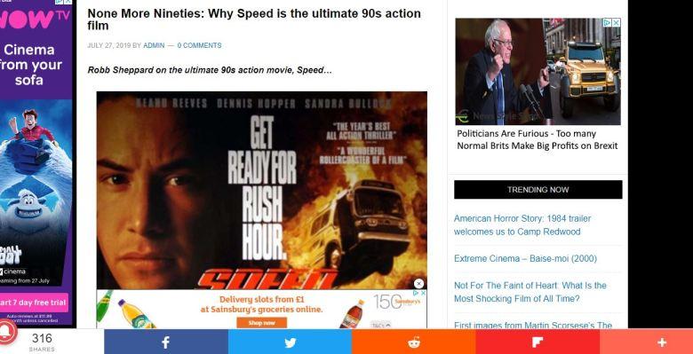 Flickering Myth Speed Screengrab