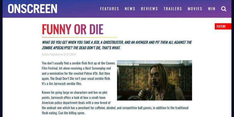 The Dead Don't Die screengrab