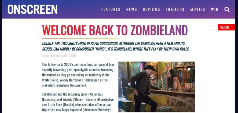 Zombieland screen grab