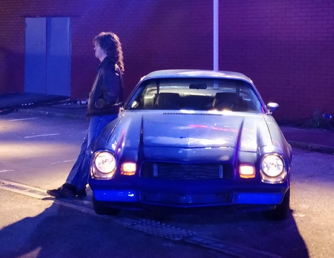 Stranger Things Billy Car Secret Cinema