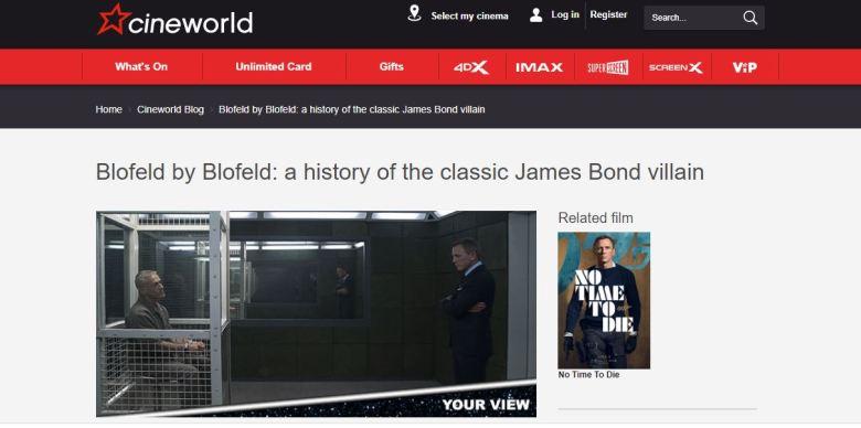 Blofeld history