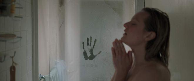 The Invisible Man shower scene